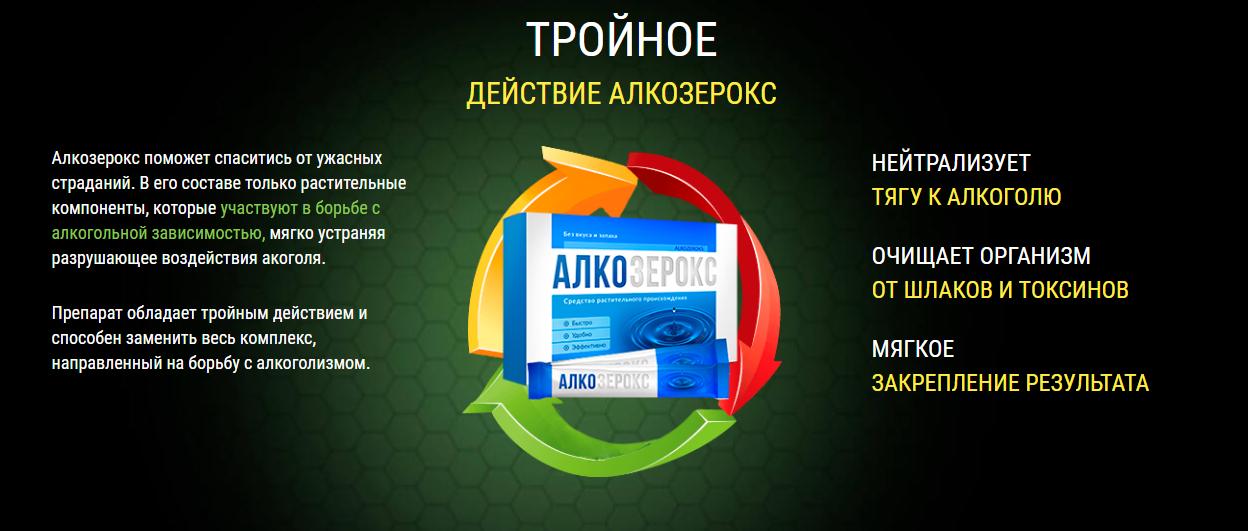 Алкозерокс – эффективность
