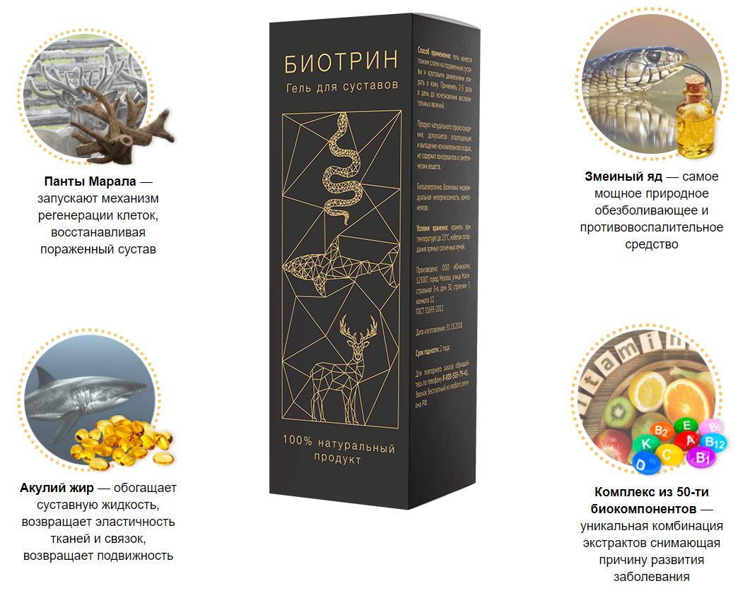 Биотрин – состав