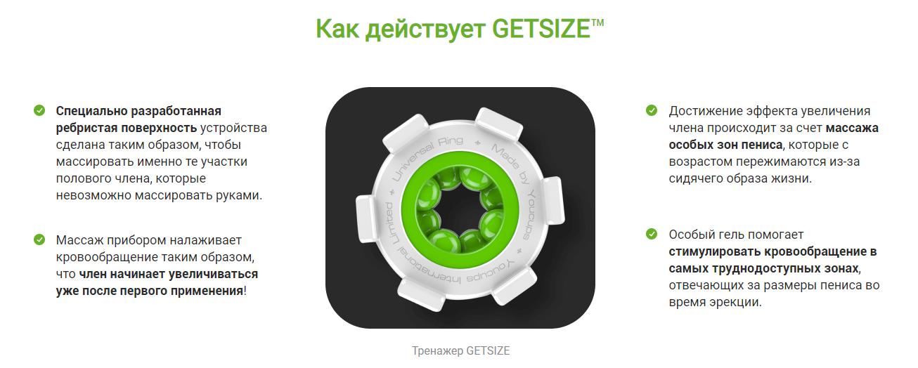 GetSize – механизм действия