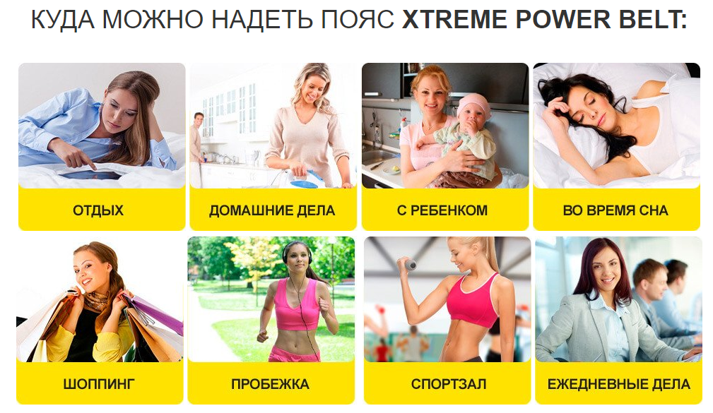 Xtreme Power Belt – показания