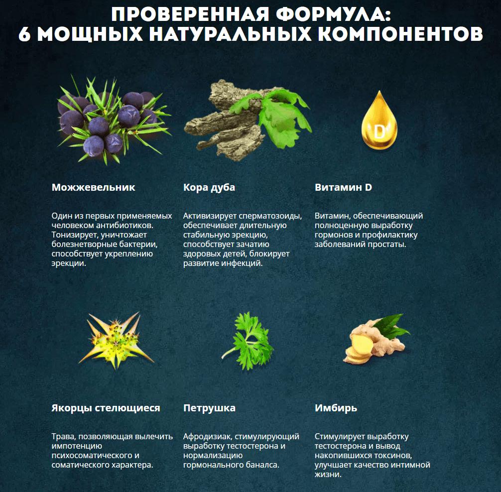 Состав Эропростан