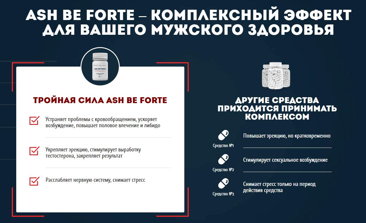 Ash Be Forte – сравнение с аналогами